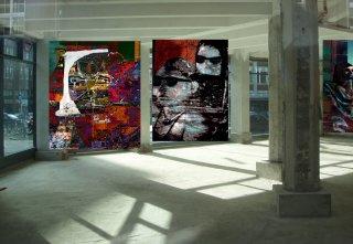 bilder von mehan sanphou in galerie z7 hh, Karl Dieter Schaller