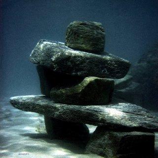 artefakt   temporäre unterwasserskulptur, Karl Dieter Schaller