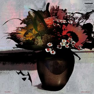 les fleurs du mal.version 1., Karl Dieter Schaller