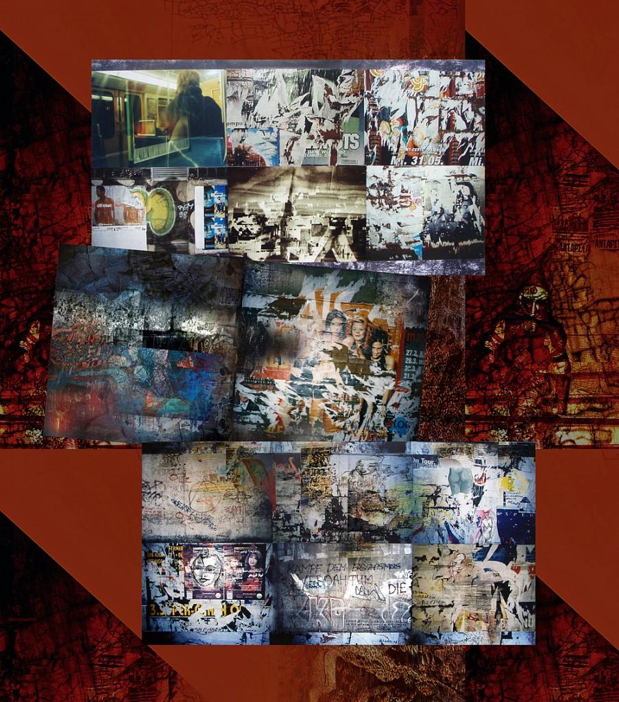 wallartunchained 2. detail, Karl Dieter Schaller