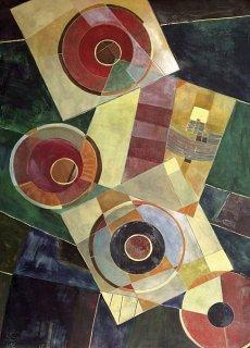 Schwebende Quadrate, Birgit Schulze