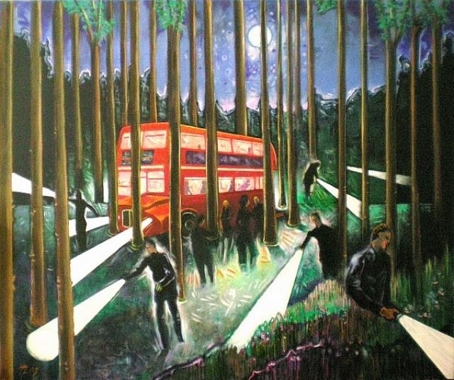 Bus Stop, Helmut Zimmermann