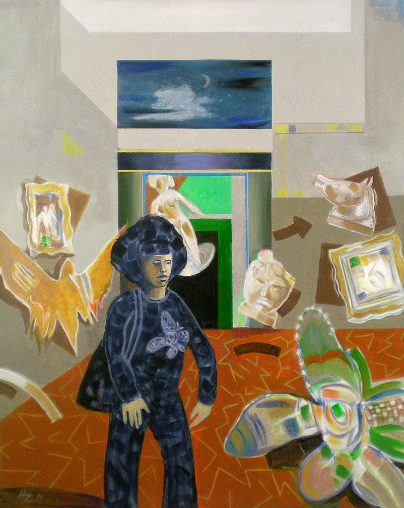 Eine Nacht im Museum, Helmut Zimmermann
