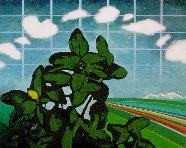 Landschaft Nr.1, Helmut Zimmermann